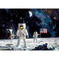 El primer hombre en la luna puzzle 1000 piezas Educa