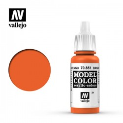 Pintura acrilica naranja intenso Model Color 70851