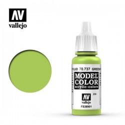 Pintura acrilica Verde Fluo  Model Color 70.737