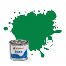 Pintura Emanel verde brillo Humbrol 14ml.