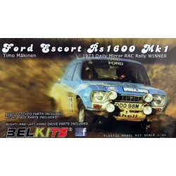 Kit 124 Ford Escort RS1600 MK1 1973 Daily Mirror RAC
