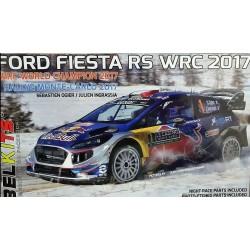 Kit 1/24 Ford Fiesta RS WRC 2017 Rally Montecarlo 2017 Sebastian Ogier