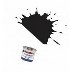 Pintura Emanel Negro brillo 21 Humbrol 14ml