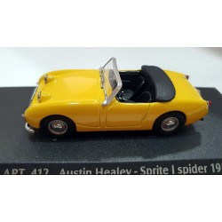 Austin Healey Sprite I Spider 1958 escala 1/43 Detail Cars