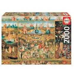 Locomotora de Vapor puzzle 2000 piezas Educa