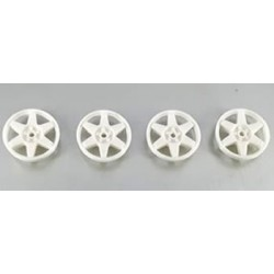 Tapacubos Type Subaru White 17.3mm para llanta Slot.it