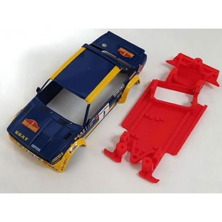 Chasis 131 AW EVO completo compatible Scalextric