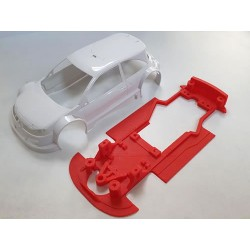 Chasis Megane T1 Hybrid EVO compatible con Ninco