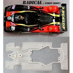Chasis Radical PRO-SS Pro Super Soft compatible Scaleauto