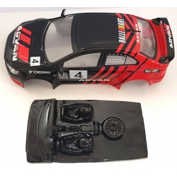 Lexan rally Subaru compatible Avan