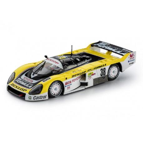 Toyota 86C Dunlop 24h Le Mans 1989