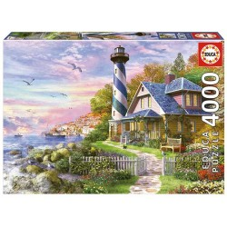 Faro en Rock Bay puzzle 4000 piezas