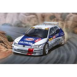 Kit 1/24 Peugeot 206 Maxi Rally Montecarlo 1996