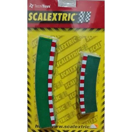 Borde para curva exterior 4+4 Scalextric