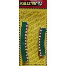 Borde para curva interior 4+4 Scalextric