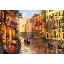 Atardecer en Venecia puzzle 1500 piezas Educa