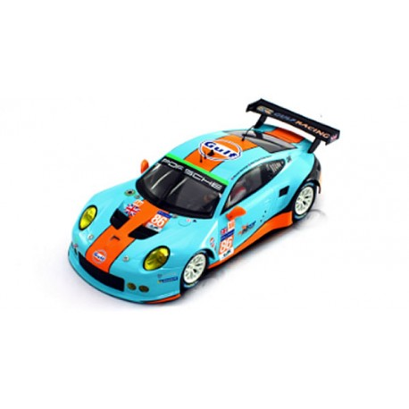 Porsche 911 RSR GT3 Gulf 24h Le Mans 2016
