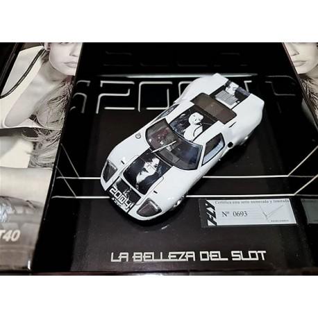 GT40 La belleza del slot 2004 Fly Car Model
