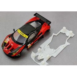 Chasis Ferrari 458 compatible con Carrera