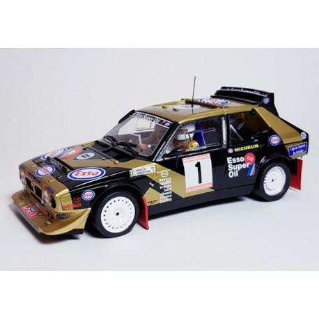 Lancia Delta S4 Original Fabricio Tabaton Rally Principe Asturias 1986