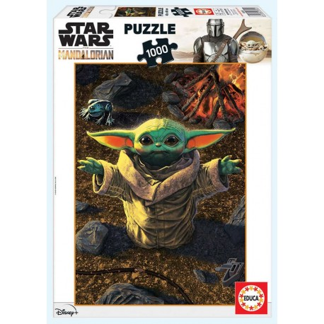 Star Wars the Mandalorian 1000 piezas 48 x 68cm