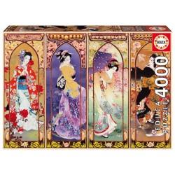 Collage Japones 4000 piezas 136 x 96 cm Educa