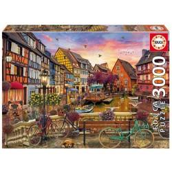 Colmar Francia puzzle 3000 piezas Educa