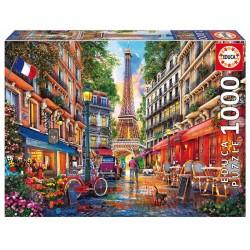 Paseo otoñal puzzle 1000 piezas Educa 68 x 48cm
