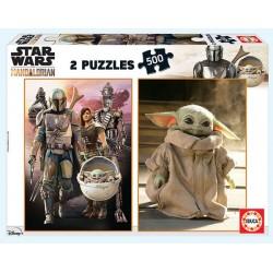 Koala con su cachorro puzzle 500 piezas Educa 34 x 48 cm