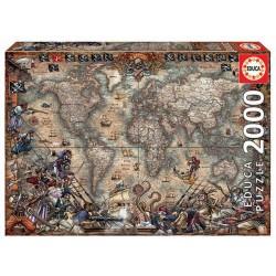 El jardin de las Delicias puzzle 2000 piezas Educa