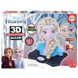 Frozen II Disney color edition puzzle 3D Sculpture 163 piezas Educa