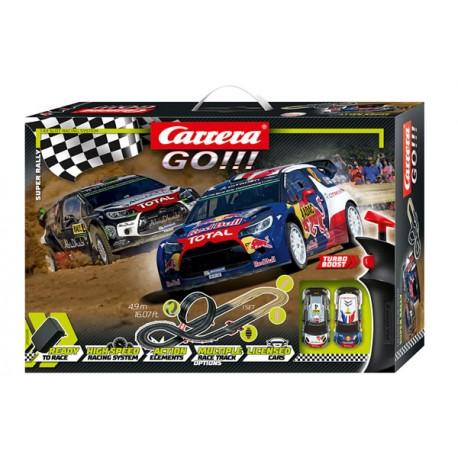 Circuito Super Rally Carrera GO 1/43