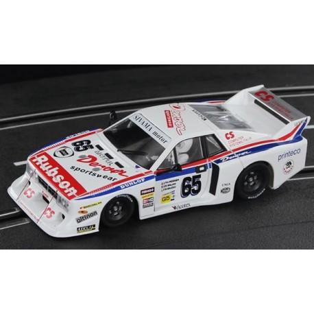 Lancia Beta Montecarlo 24h. Le Mans 1982 nº 65